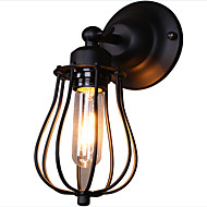 billige Vegglamper-Rustikk / Hytte / Land / Traditionel / Klassisk Vegglamper Metall Vegglampe 110-120V / 220-240V 40W
