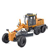 Auta na zadní natahování Autíčka Náklaďák Stavební stroj Srovnávač Hračky Simulace Hračky Kov Pieces Unisex Dárek