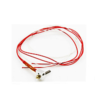3D Printer Extrusion Head (Nozzle  Hose  Aluminum  Heating Tube  Thermistor) Anet Extrusion Head