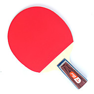 별1개 Ping Pang/탁구 라켓 Ping Pang 나무 짧은 핸들 여드름