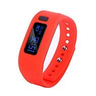 tanie Inteligentne zegarki-Inteligentne Bransoletka Wodoszczelny Spalone kalorie Krokomierze Kamera/aparat Budzik Informacje Monitor snu USB Bluetooth 4.0 iOS