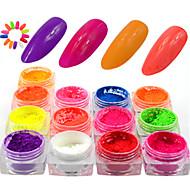 halpa -13bottle/set Nail Art Decoration tekojalokivi Pearls meikki Kosmeettiset Nail Art Design