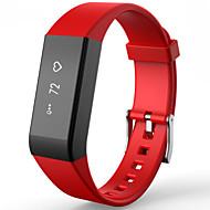 tanie Inteligentne zegarki-Inteligentne Bransoletka Pulsometr Wodoszczelny Ładowanie bezprzewodowe Rejestr ćwiczeń Informacje Anti-lost Długi czas czuwania Sportowy