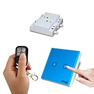 Χαμηλού Κόστους -fyw δύο συμμορία διπλό έλεγχο μιας συμμορίας αγγίξει τηλεχειριστήριο διακόπτης δεν χρειάζεται να κοπεί καλωδίωση τοίχο με τέσσερα πλήκτρα