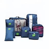 7個 旅行かばんオーガナイザー 防水 携帯用 小物収納用バッグ クロス シューズ ナイロン トラベル