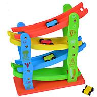 Bildungsspielsachen Spielzeugautos zum Aufziehen Spielzeugautos Marmorschienen-Sets Spielzeuge 3D Kunststoff Gute Qualität Stücke