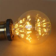 1本のe27 g95 2.5w 300から350lmのフィラメント電球のコブ暖かい白い花火ランプac220-240vを導いた
