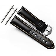 billiga Smart klocka Tillbehör-Klockarmband för Gear S3 Frontier Gear S3 Classic Samsung Galaxy Sportband Klassiskt spänne Läder Handledsrem
