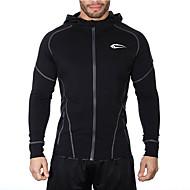 Homens Jaqueta de Corrida Respirável para Exercício e Atividade Física Corrida Preto Cinzento M L XL XXL
