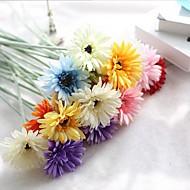 billige Kunstige blomster-10 hoder silke tusenfryd bordplaten blomst kunstige blomster hjemme dekorasjon