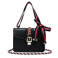 Women Bags All Seasons PU Shoulder Bag for Casual White Black Red Gray