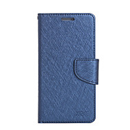 billiga Mobil cases & Skärmskydd-fodral Till Xiaomi Korthållare Plånbok med stativ Lucka Fodral Ensfärgat Hårt PU läder för Xiaomi Redmi Note 4 Xiaomi Redmi Note 3 Xiaomi