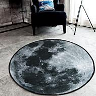 מודרני שטח שטיחים פוליאסטר פרחוני עגולות