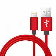 iPhone Cable Apple Certified Lightning to USB Cable JDB MFi 3.3ft (1m) Data Cable For iphone X, iPhone 8, 8Plus, iphone 7, 7plus, iPad