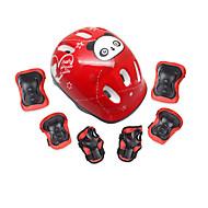 아동 무릎 보호대 팔꿈치 스트랩 손&손목 보호대 용 스케이팅 스케이트보드 조절가능 왼쪽 또는 오른쪽 팔꿈치에 적합 왼쪽 또는 오른쪽 무릎에 적합 보호하는 1 세트 스포츠