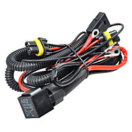 H8 H9 H11 880 881  HID Xenon Relay Wire Wiring Harness with Fuse