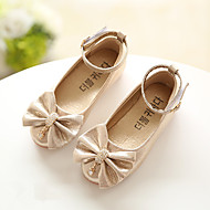 baratos Sapatos de Menina-Para Meninas Sapatos Couro Ecológico Verão Conforto Sapatos de Barco para Dourado / Prata / Rosa claro