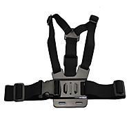 Brystbælte Etui Multi-funktion 1 pcs Til Action Kamera Gopro 6 Alle Xiaomi Kamera Sport DV SJCAM Dykning Surfing Ski Plastik PC / SJ4000 / ThiEYE i30 / TomTom Bandit