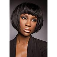 halpa -lumoava tyylikäs suorat lyhyet hiukset peruukki muodikas nainen hiukset