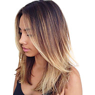 100g / pc corps vague cheveux humains 10-18inch ombre brown blonde cheveux humains s'habille