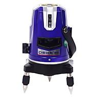 Deke® 3 řádek 530nm infračervená zelená laserová značkovací zařízení nivelační linka laser