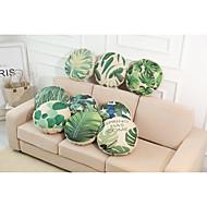 baratos Conjuntos de Almofadas-9 pçs Linho Cobertura de Almofada, Sólido Textura Tropical Estilo Praia Tom/Decoração