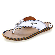 Men's Slippers & Flip-Flops Spring Summer Fall Light Soles Nappa Leather Outdoor Office & Career Dress Casual Water Shoes