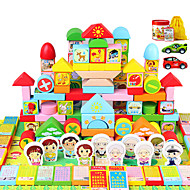 Stavební bloky Vzdělávací hračka Herní sady pro auta Hračky Hračky Pieces Nespecifikováno Unisex Chlapci Dárek