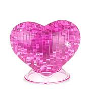 Χαμηλού Κόστους Παζλ 3D-Παζλ 3D Κρυστάλλινα παζλ Τριαντάφυλλα Καρδιά Διασκέδαση Πλαστική ύλη Κλασσικό Γιούνισεξ Δώρο