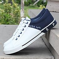 メンズ 靴 PUレザー 春 秋 スリングバック スニーカー 用途 カジュアル ホワイト カーキ色 レッドとブラック