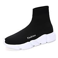 ユニセックス 靴 オーダーメイド素材 秋 冬 ブーツ ローヒール ラウンドトウ ブーティー/アンクルブーツ 用途 ブラック