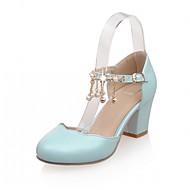 Női Magassarkúak Kényelmes Újdonság Club cipő Formai cipő Bőrutánzat PU Nyár Ősz Hétköznapi Ruha Party és Estélyi GyaloglóKényelmes