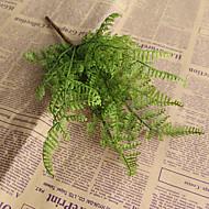 1 Ramo Plástico Plantas Flor de Mesa Flores artificiais