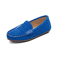 cheap Boys' Shoes-Boys' Shoes Suede Summer Moccasin Loafers & Slip-Ons for Athletic Casual Outdoor Blue