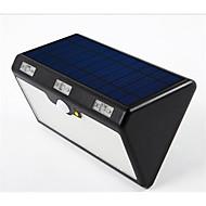 Luzes solares 60led quatro em um sensor de corpo luzes de rua luzes solares à prova d'água ao ar livre com 9600mah