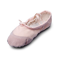 Women's Ballet Fabric Flat Indoor Flat Heel White Black Beige Red Blushing Pink Non Customizable