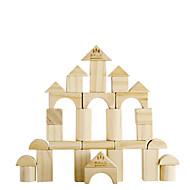 Stavební bloky Vzdělávací hračka stavebnice za dárky Stavební bloky Modelování Kulatý Čtvercový Válcový Üçgen Dřevo 2-4 roky 5-7 let