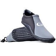 baratos -Sapatos para Água Unisexo Secagem Rápida Borracha PVC Mergulho