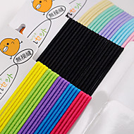 Han Edition of Candy Color the Chicken Children Elastic Tire Joker Jointless Line Mixed Color Delivery 60/3 Card