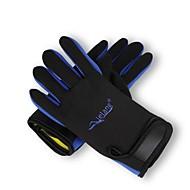 다이빙 장갑 모든 손가락 남여 공용 따뜨하게 유지 착용 가능한 다이빙 라이크라