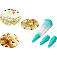 baratos Utensílios para Confeitaria-Ferramentas bakeware Silicone / Plástico Amiga-do-Ambiente / Faça Você Mesmo Bolo / Chocolate / para Candy Ferramenta de decoração 1conjunto