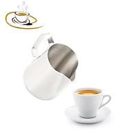 קלאסי מִעוּטָנוּת מסיבה ציוד לשתייה, 350 ml בידוד פלדת אל חלד עירום חָלָב כוסות קפה