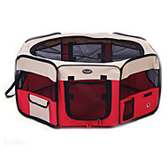 Cat / Dog Kennel Fence Tent Soft Sided Cage Beds Blankets Fabric Waterproof / Portable / Breathable
