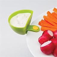 Kunststof Serveer- & Saladekom servies  -  Hoge kwaliteit