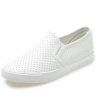 Dame-PU-Flat hæl-Komfort-一脚蹬鞋、懒人鞋-Fritid-