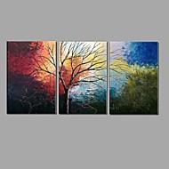 billiga Landskapsmålningar-Hang målad oljemålning HANDMÅLAD - Landskap Europeisk Stil Parfymerad Duk