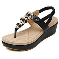halpa -Sandaalit-Kiilakorko-Naiset-PU--Toimisto Puku Rento-Comfort Valopohjat