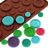 Pişirme Kalıp Ice için Çikolata Candy Silikon DIY 3D Yapışmaz Çevre Dostu