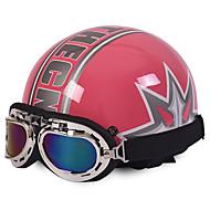 ハーフヘルメット オートバイのヘルメット