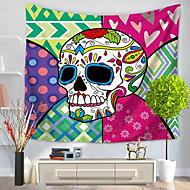 tanie Dekoracje ścienne-Inne Dekoracja ścienna 100% Polyester Wzorzysty Kreskówka Wall Art, Ścienne Gobeliny Dekoracja